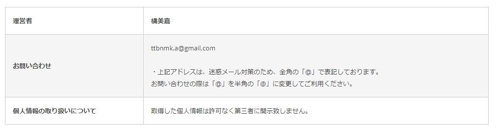 """特商法の表記の画像"""""""""""